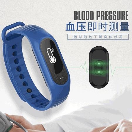 运动情侣学生男女防水电子表韩版计步 智能心率手表血压