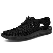 登山包头镂空鞋 沙滩涉水鞋 编织凉鞋 溯溪鞋 夏季户外防滑凉鞋 男鞋