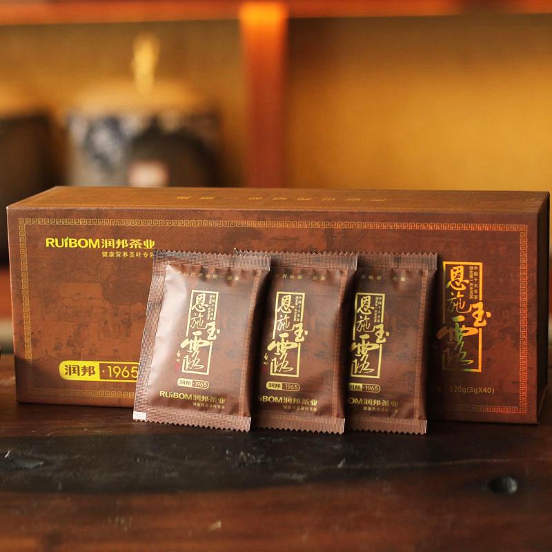 条盒 1965 恩施玉露正品润邦 含硒绿茶 新茶叶芭蕉明前茶