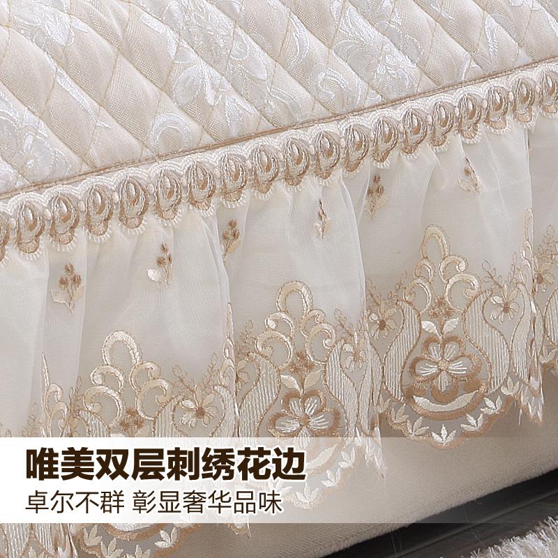 冬季欧式沙发垫布艺简约现代四季防滑皮通用组合沙发