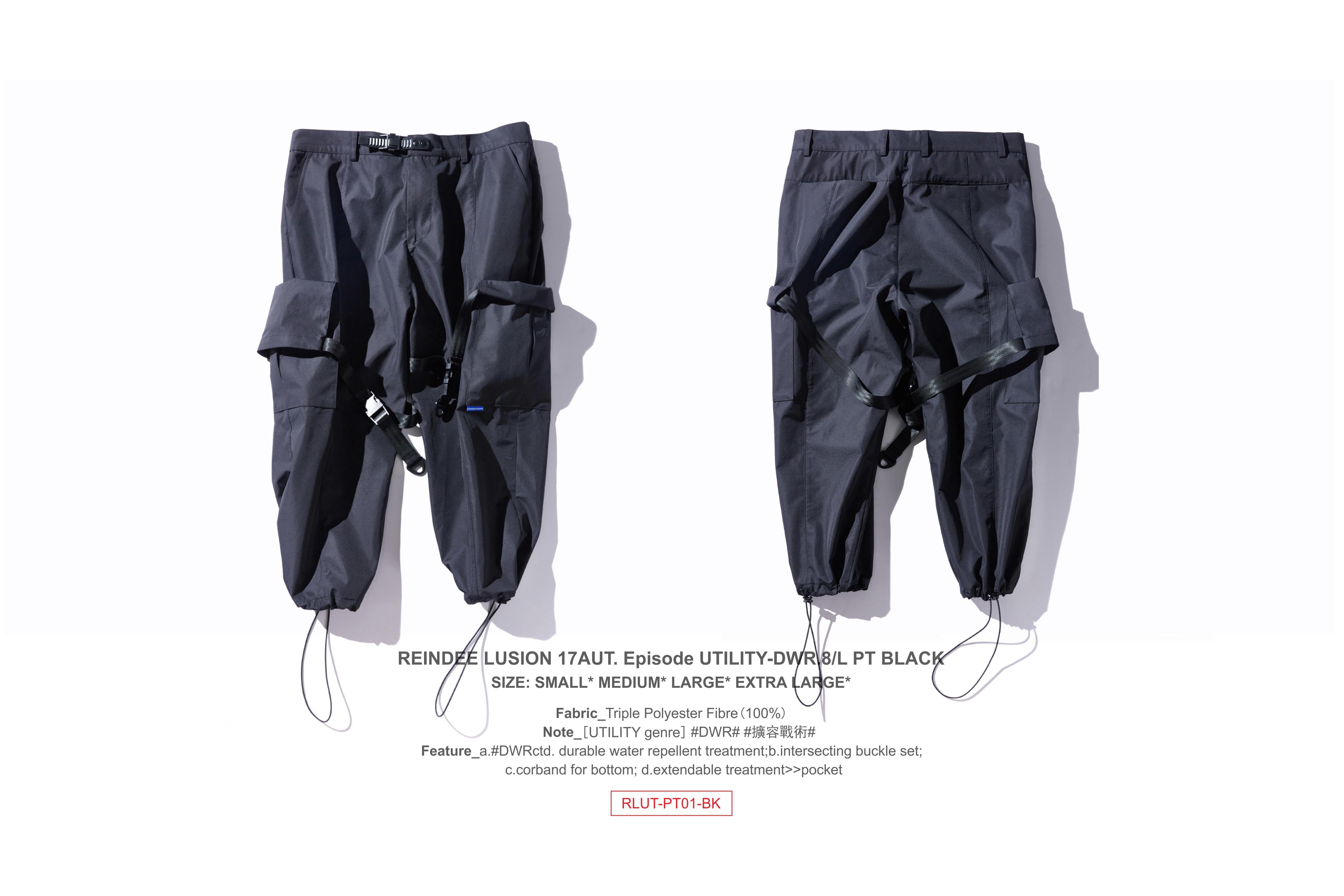 RL | REINDEE LUSION 17AUT.形功 可扩容口袋防水机能八分裤