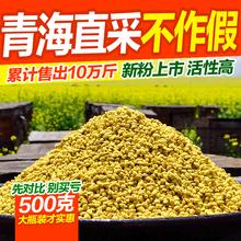 新鲜青海油菜花粉 天然蜂花粉未破壁品质纯正复人春 2017新粉上市