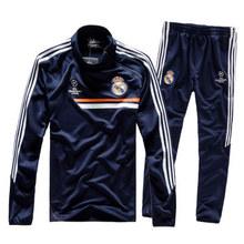切尔西AC米兰足球训练服长袖足球服套装男收腿裤欧冠皇马球衣队服