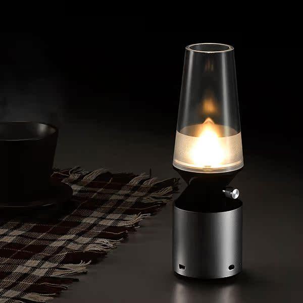 创意复古LED节能小台灯护眼吹控可调光卧室床头氛围装饰照明台灯