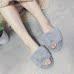 冬季棉拖鞋女居家厚底家用室内毛毛拖鞋冬保暖毛绒韩版家居拖鞋高