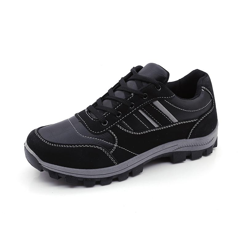 登山鞋跑步徒步夏季防水防滑旅游運動鞋輕便耐磨戶外男士