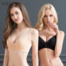 eblin衣恋女士文胸简约聚拢无钢圈上薄下厚款胸罩ECBR889191图片