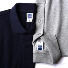 【买一送一】polo衫短袖男宽松纯色大码男士商务休闲翻领T恤定制