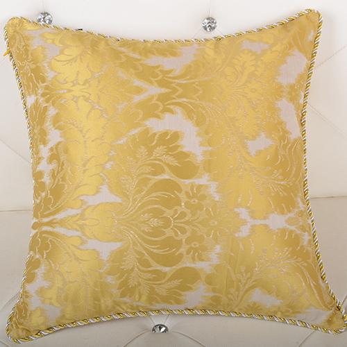 欧式新古典金色样板房靠垫靠枕套