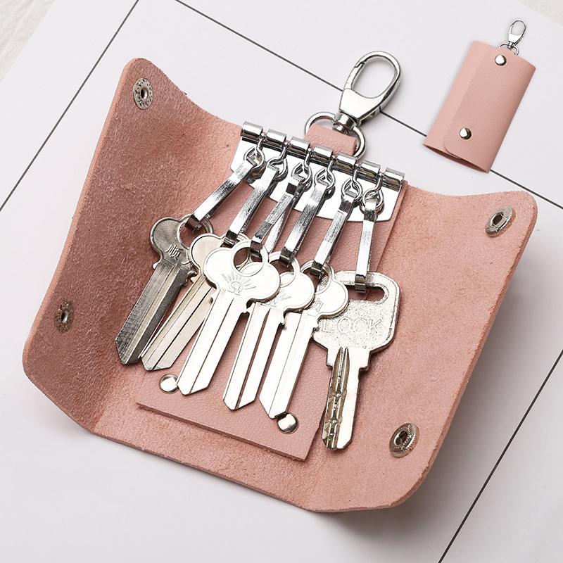 大容量钥匙包女士韩国迷你可爱创意简约小清新多功能汽车锁匙扣男