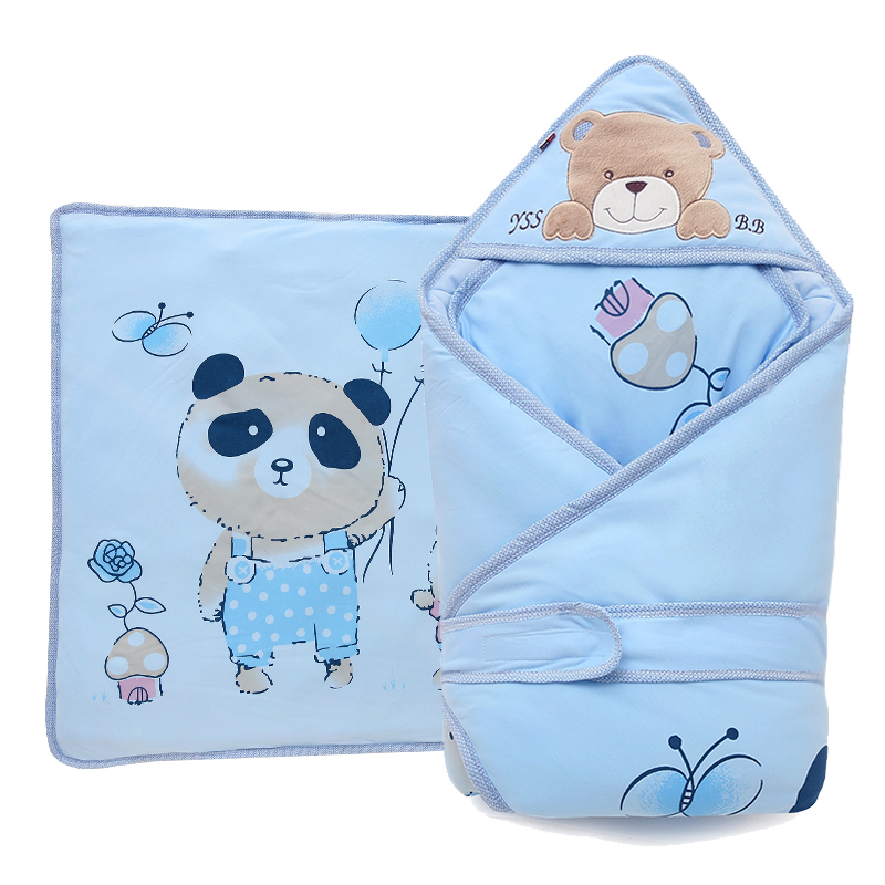 包被纯棉秋冬冬季包巾可脱胆宝宝加厚婴幼儿用品新生儿