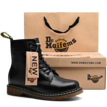 棉靴8孔真皮英伦情侣短靴1460 Dr.Maifems马丁靴男靴工装 代购 正品