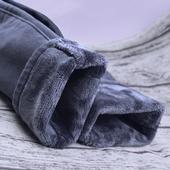 加绒牛仔裤女冬季小脚九分高腰加厚保暖长裤韩版大码弹力铅笔裤子