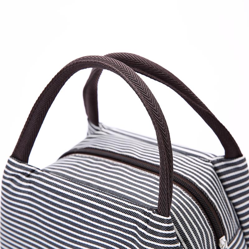 尼龙加厚妈咪包手提包女士便当包饭盒包帆布手拎妈妈小布包小包包