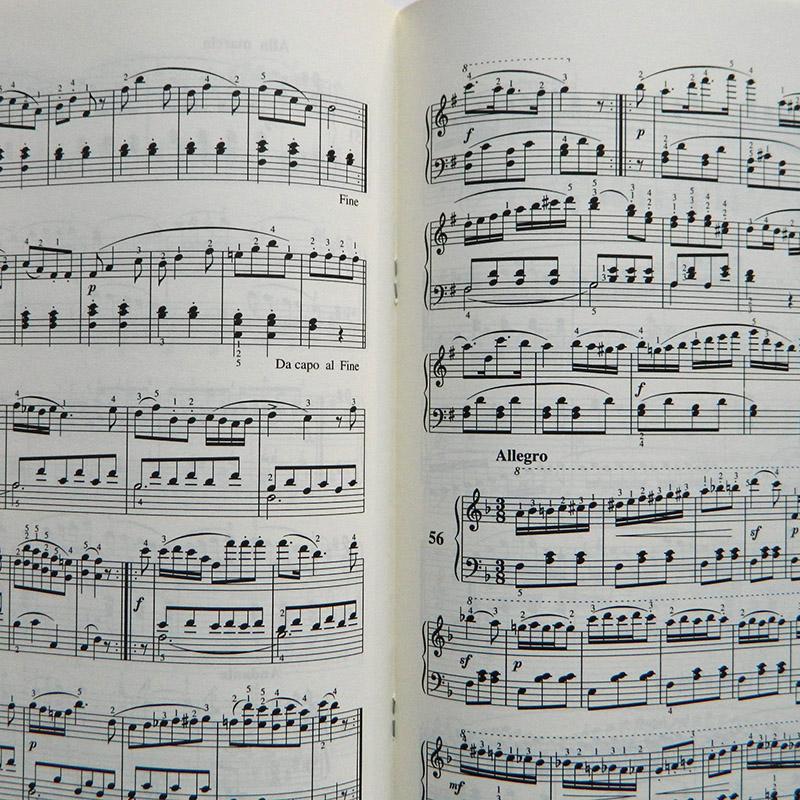 车尔尼钢琴初步教程作品599车尔尼599钢琴初步教材书图片