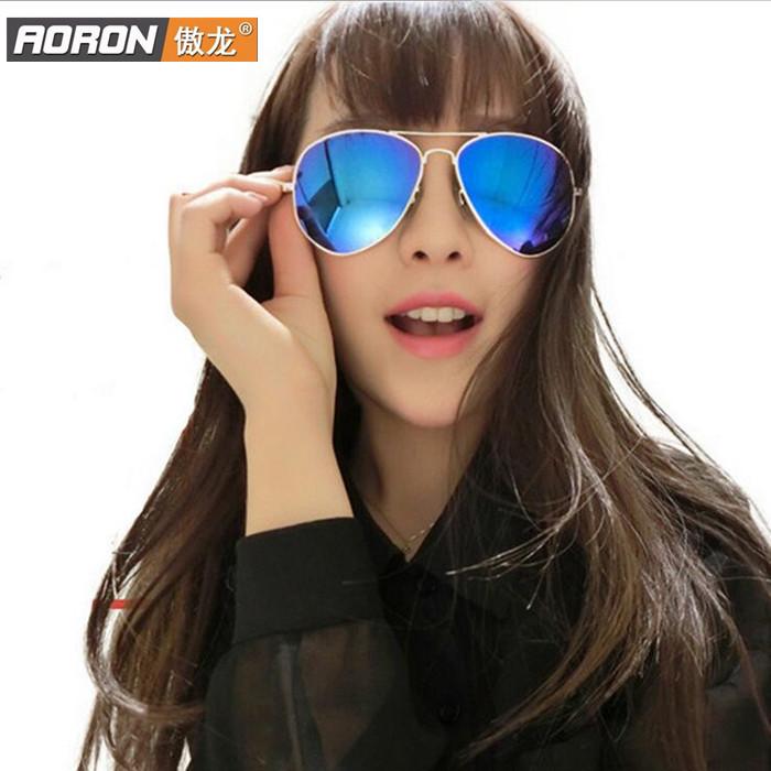 新款彩膜太阳眼镜 男女时尚蛤蟆镜3026 驾驶开车专用司机潮人墨镜