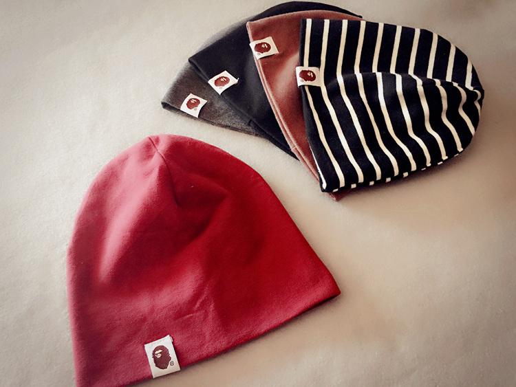 男童女童套头帽子秋冬婴儿1岁2纯棉0-3-6-12个月宝宝儿童韩版潮帽