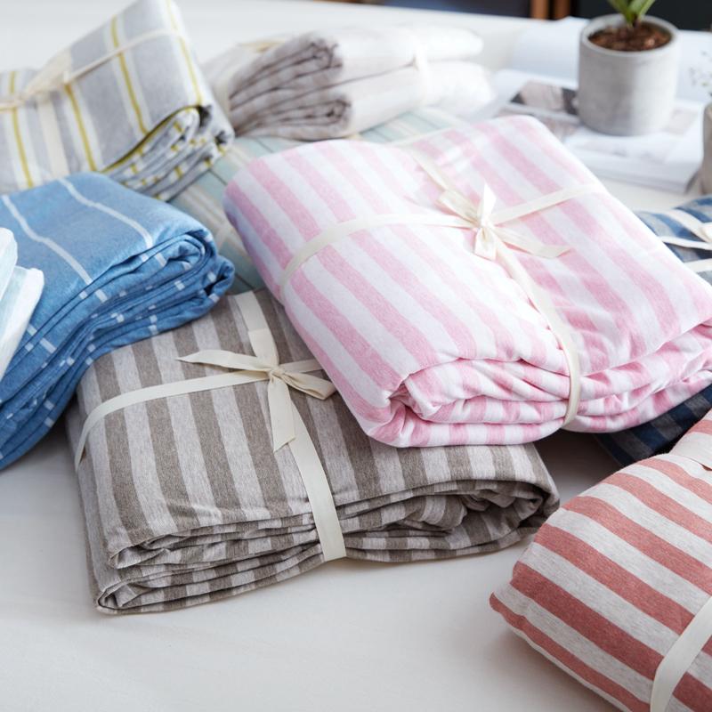 针织套单件天竺棉被 纯棉被罩单人 双人