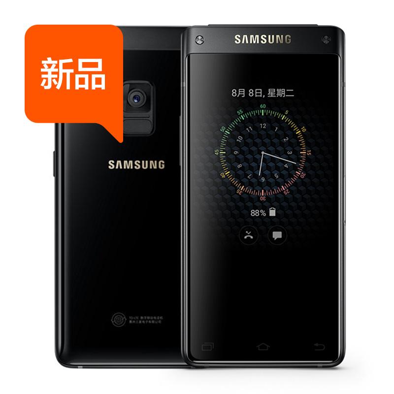 正品 4G 翻盖双屏移动联通 5 大器 8 领世旗舰 G9298 SM 三星 Samsung