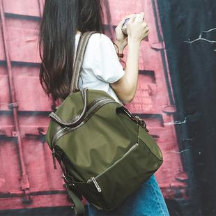 新款大学生双肩包女包尼龙牛津布旅行背包男电脑包韩版学院风书包