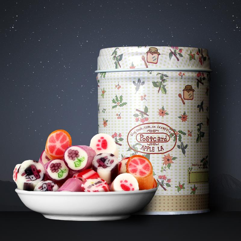 独角兽零食水果创意休闲喜糖礼盒棒棒糖儿童切片女生手工麦芽