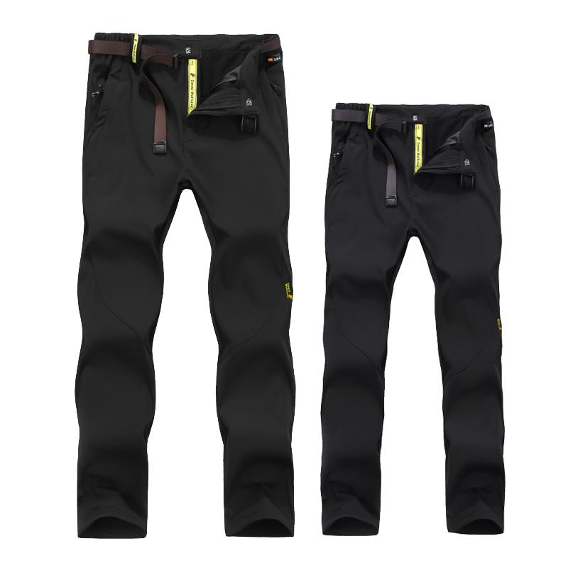 大卫长裤保暖裤女软壳男士冲锋户外加厚风水冬季登山