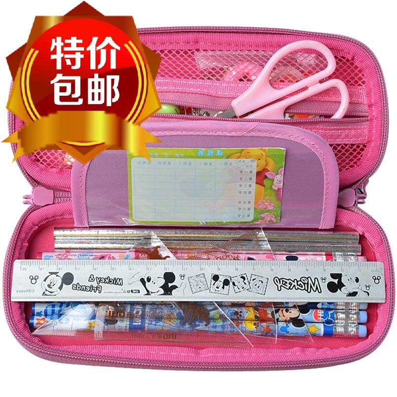 男女生简约可爱笔袋铅笔袋大容量小学生儿童文具盒
