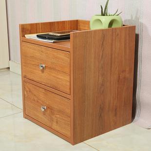 【特价】欧式床头柜雕花白色实木双人床婚床边柜矮柜