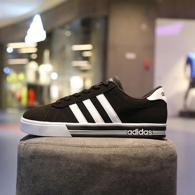 阿迪达斯男鞋板鞋NEO秋季低帮帆布鞋轻便运动鞋学生休闲鞋AW4575
