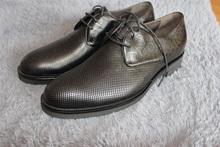 男鞋 真皮职场行政单鞋 正品 皮鞋 西班牙商务正装 mister名仕打孔凉鞋