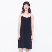有耳uare原创设计 2017夏  莫代尔内搭弹力吊带裙打底裙