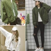春季女装 立领 学生休闲宽松百搭夹克短外套潮 棒球服2017新款 韩版