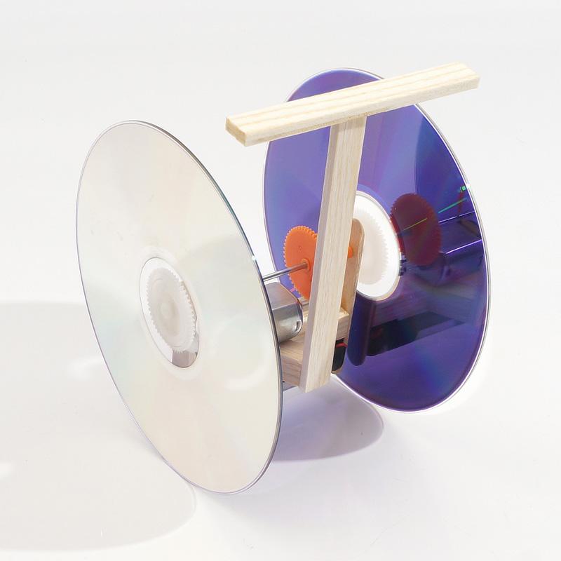科技小制作DIY智能平衡车模型材料小学生科学