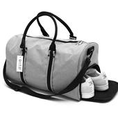 短途出差行李包男女旅游袋 大容量运动休闲手提包旅行包健身包男士