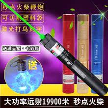 包邮303大功率激光手电绿光激光灯教鞭笔镭射灯绿外线远射打鸟