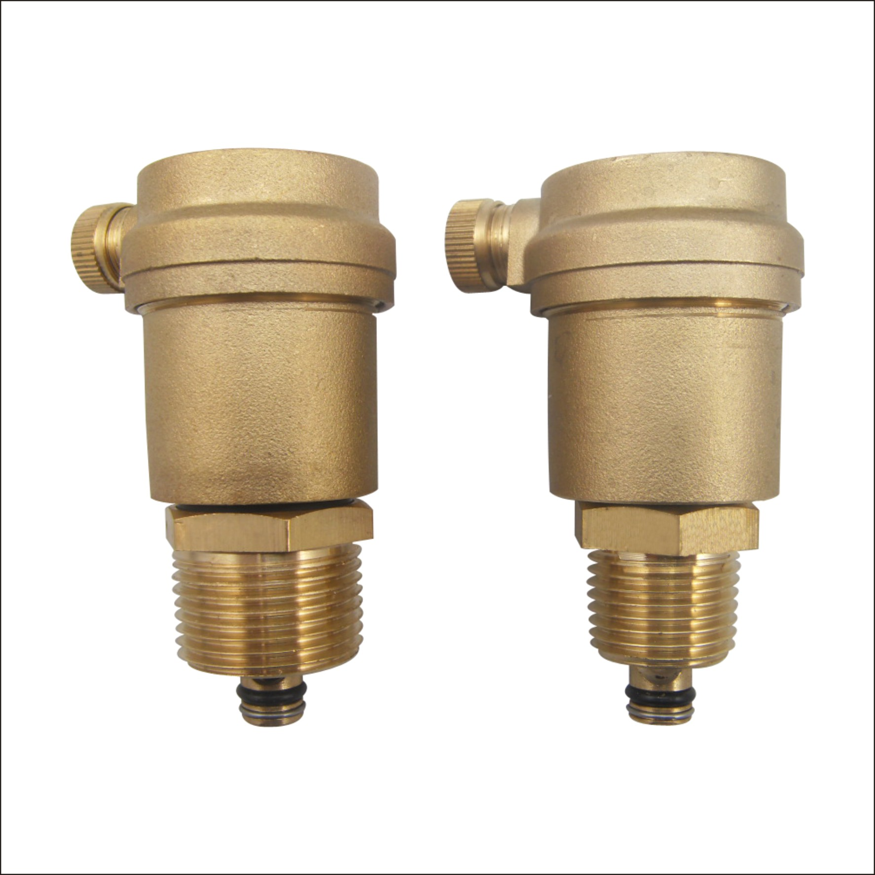 盾安牌 黄铜配件 立式铜阀门 自动排气阀 直排暖气阀图片