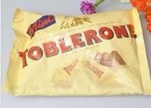 瑞士TOBLERONE 200g 三角巧克力原味含蜂蜜及奶油杏仁 包邮