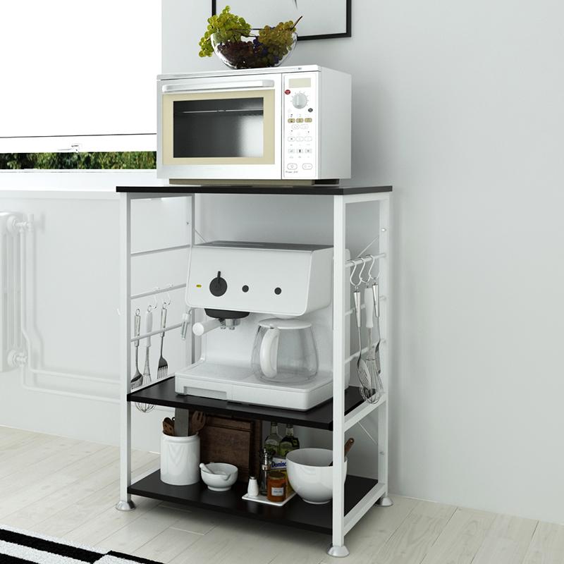 创意厨房置物架落地微波炉架子多层架多功能厨房电器储物架收纳架