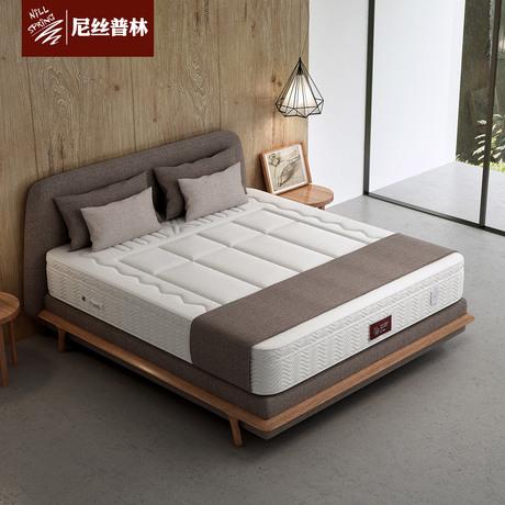尼丝普林乳胶床垫 3D床垫 独立弹簧席梦思1.5米1.8定做伏尔加商品大图