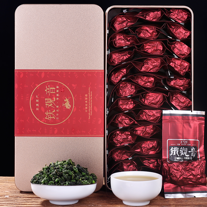 特级浓香 礼盒茶叶 铁观音安溪 兰香型 秋茶