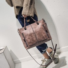 2017新款女包潮时尚女士手提包女学生韩版斜挎单肩包大包包简约