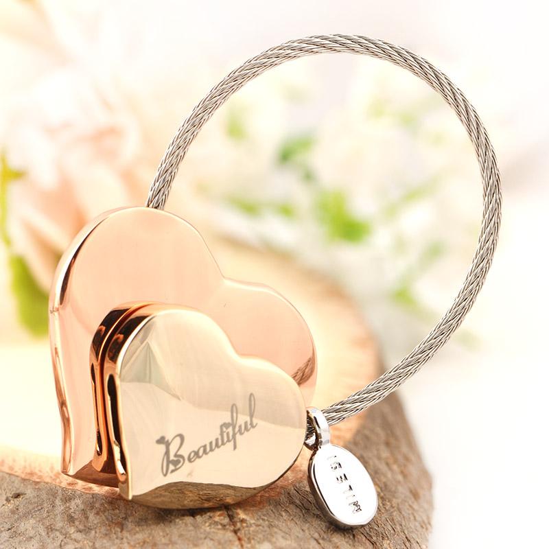 米勒斯钥匙扣韩国创意汽车钥匙扣钥匙挂件可爱女钥匙链圈
