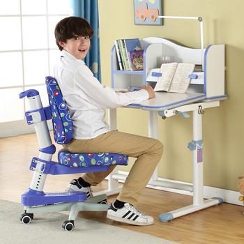 艾学儿童学习桌椅套装多功能可升