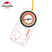 NH 徒步穿越 指北针 多功能指南针 带刻度定向越野比赛送收纳袋