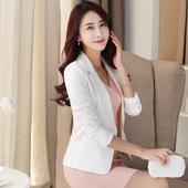 2016秋装新款小西装女短款外套修身女士小西服女韩版职业长袖大码