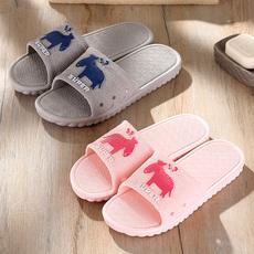 男女夏季卡通防滑室内凉拖鞋