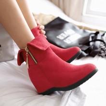 纤纤妙语莱思丽女鞋旗舰店官方香妹专柜2016正品短靴雪地靴中筒靴