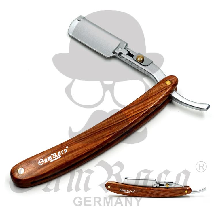 理发老式剃刀刮胡刀手动剃头刀家用刮脸刀剃须刀 刀架