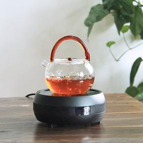 功夫茶具煮茶炉 触摸变频家用迷你煮茶电陶炉 铁壶银壶烧水炉子