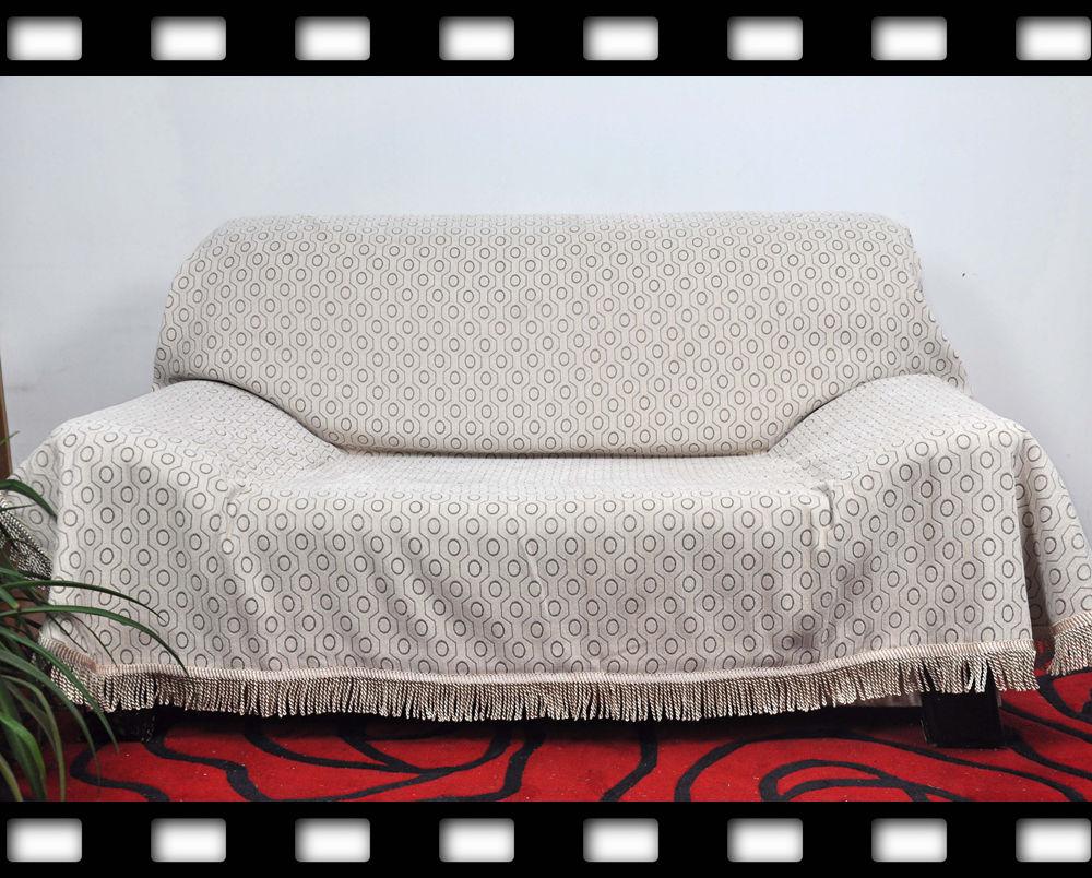 简约现代加厚雪尼尔客厅沙发巾皮沙发罩沙发套高端全